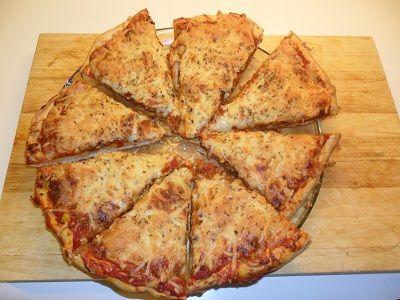 pizzabunn uten heving