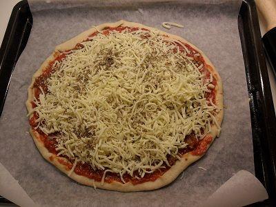 enkel pizzadeig tørrgjær